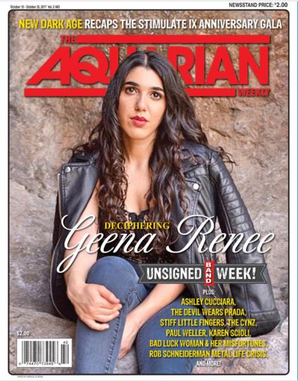 Geena-Renee-Aquarian-Weekly-Cover